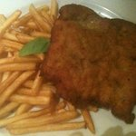 cotoletta all'aglio!