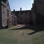 View from putting green of main house