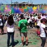 The Color Explosion at the end.