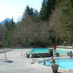 hot springs pools & freshwater swimming pool