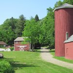  The restored barn and silo