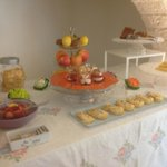  fresh fruit and the CAKES
