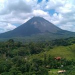 view from arenal volcano