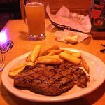 My 12oz Ft Worth Ribeye  at Texas Roadhouse, Trexlertown