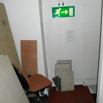  Way out and FIRE EXIT!!