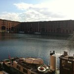  the Liverpool docks not far from the hotel