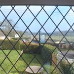  The view toward Bridgnorth from the dining room