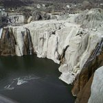 Shoshone Falls during low water levels