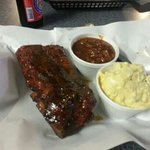  Half rack of ribs