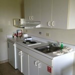better view of the kitchenette