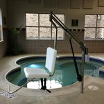 Pool Lift for accessibility