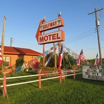Gulfway Motel during Spring Bird Migration