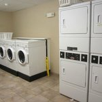 Wonderful FREE laundry room.