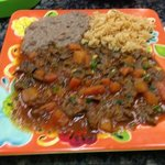steak a la mexicana ! just great!