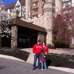 us at our hotel
