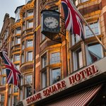 Building facade at Sloane Square Hotel London