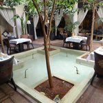  Described as the plunge pool