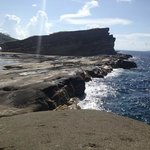  Biri island Rock formation