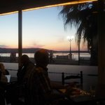  Sunset from Restaurant