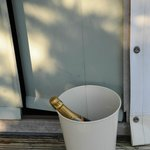  Bin doubles as a champagne bucket