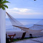 Hammock outside our room