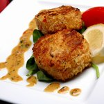 Try our delicious crab cakes as an appetizer or dinner!