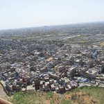 View across Jaipur