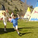the Tee Pee's at KNT