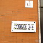 Catalan B&B  sign
