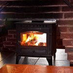 Our cosy log burner