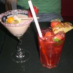 Sweet dream & Strawberry Caipiroska