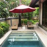  private villa pool