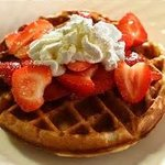 fresh fruit waffle