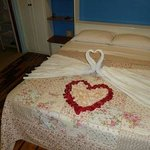 Room for guests honeymoon