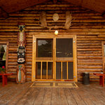  Front Porch of the Main Lodge at Kulik