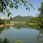 Peacock Lake in Jinghong City