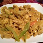 Curried chicken stir fry