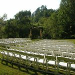  the meadow ready for a wedding