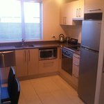 kitchen 2 bed apartment
