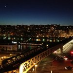  Night time view of the Seine from my balcony in Rm 605