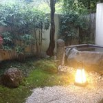 our beautiful garden and bath