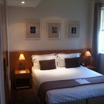 Double bed in Superior room