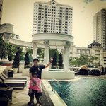 beautifull view from pool area
