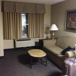  Lounge area in my suite