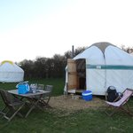  Our lovely yurt