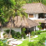 Beach side villa rooms with private pool.