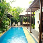 Private pool area