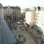  Austria Trend Hotel Europa Wien - view of Neuer Mkt from our room