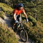 Biking with TREKnTRAIL - we do hillwalking too!