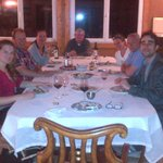 Andre Veiga & jatta ziolkowski shared the winemaker table with Ole Riis and his group,
